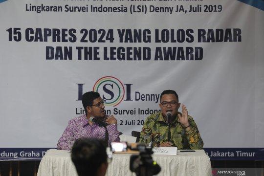 LSI Denny JA: Peluang Sandi di 2024 tidak akan kehilangan pemilih