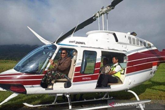 TNI perluas pencarian helikopter MI 17 di Kaure