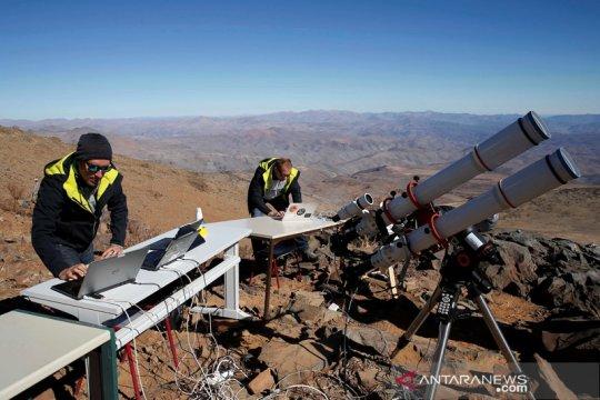 Menyambut gerhana matahari total di Chile