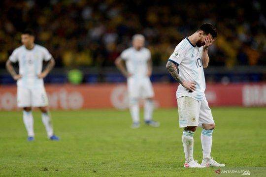 Permainan Messi membaik, namun Argentina masih harus puasa gelar
