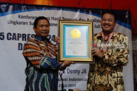 LSI Denny JA berharap Jokowi memperkuat politik reformasi