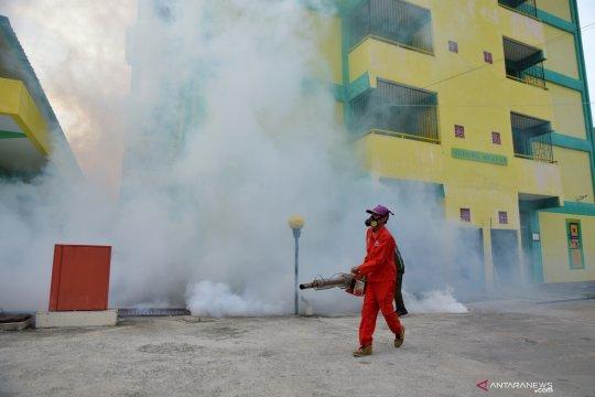 Persiapan asrama haji Riau