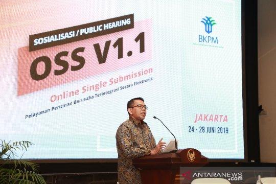 BKPM sosialisasi OSS versi 1.1 sebelum dirilis ke publik Agustus 2019