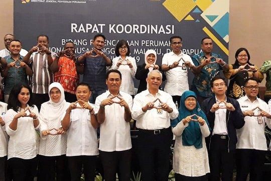 Kementerian PUPR gelar Rakor Perencanaan Perumahan di Ambon