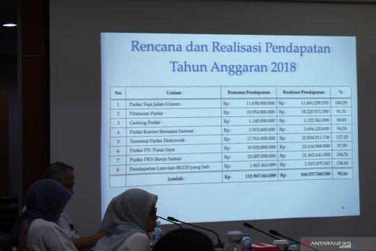 Realisasi pendapatan parkir Dishub Jakarta Rp104 miliar