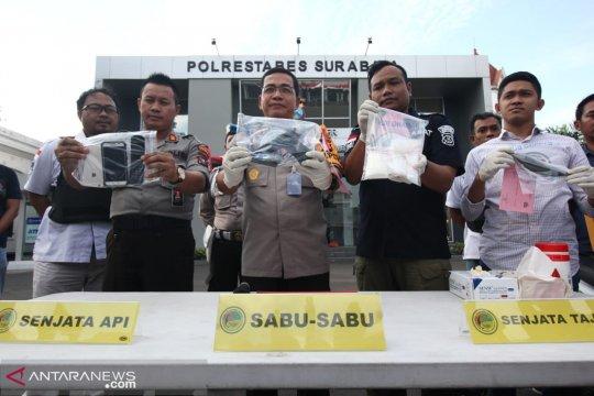 Polrestabes Surabaya tembak mati pengedar narkoba