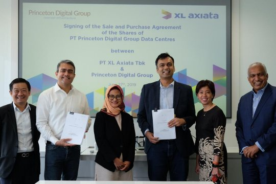 Investor Singapura akuisisi 70 persen saham data center XL Axiata