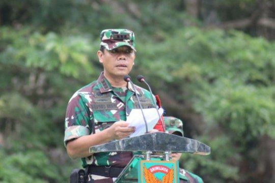 Danrem 042/Gapu perintahkan prajurit proaktif cegah karhutla