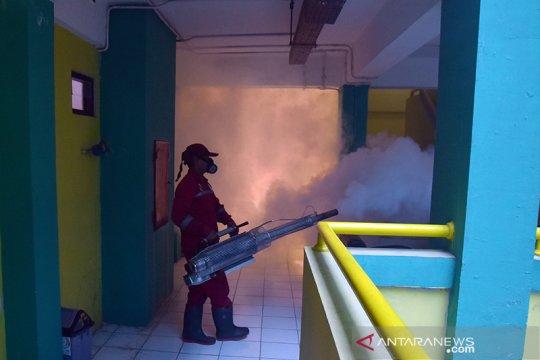 Asrama Haji Riau disterilkan dari nyamuk, lalat dan kecoa