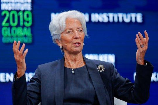 Ketua IMF Christine Lagarde dinominasikan pimpin Bank Sentral Eropa