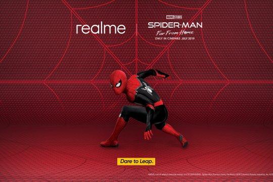 Realme janjikan ponsel Spider-Man hadir di Indonesia