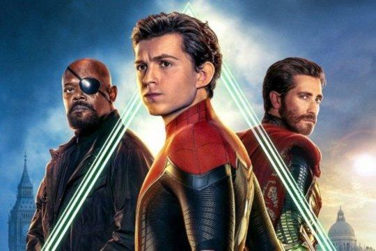 Hari ini, Spider-Man: Far From Home rilis di bioskop Indonesia