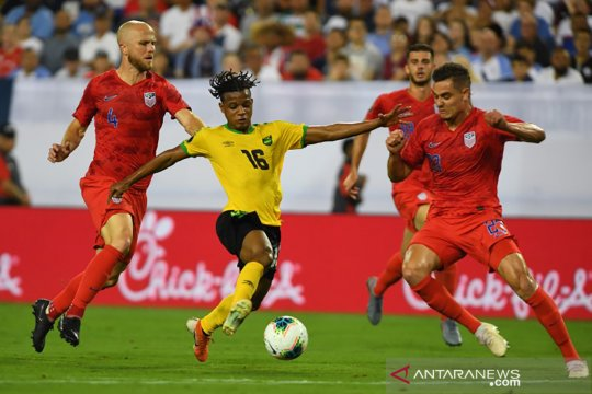 Dua gol Christian Pulisic antar Amerika Serikat ke final Piala Emas 2019