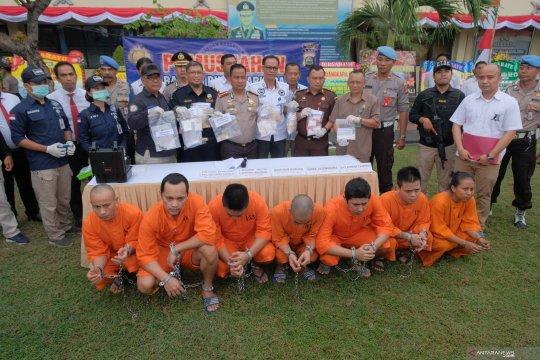 Polresta Denpasar memusnahkan sabu-sabu 1,5 kg