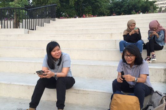 Milenial sambut positif wacana menteri muda kabinet Jokowi
