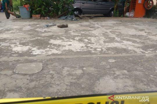 Warga temukan mortir peninggalan Belanda di Sungai Batanghari