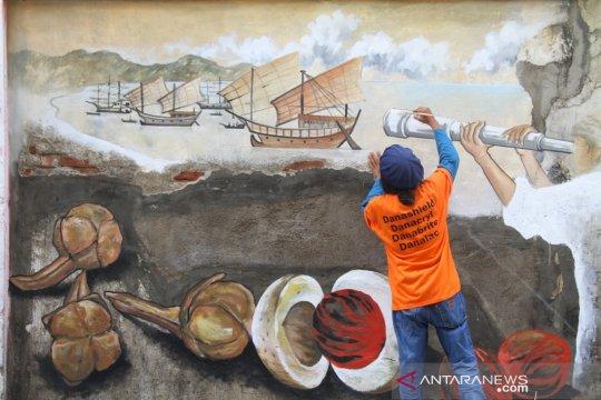 Seni mural digelar di Peunayong angkat sejarah Aceh