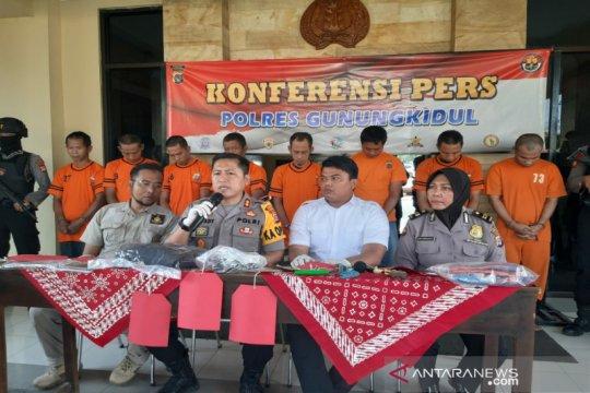 Polres Gunung Kidul ringkus komplotan pencuri toko berjejaring