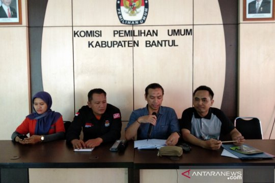 KPU Bantul tunda penetapan caleg terpilih dan perolehan kursi