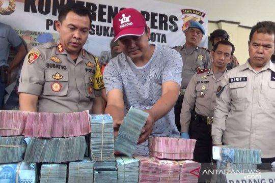Seorang perampok tewas saat bawa uang Rp1,2 miliar di Sukabumi