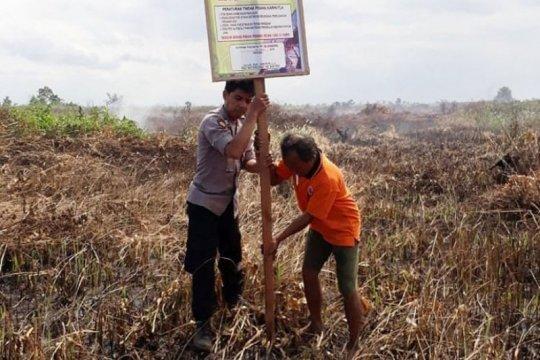 Seorang warga Kotawaringin Timur ditangkap karena membakar lahan