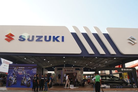 Ertiga dan Carry andalan penjualan Suzuki di Jakarta Fair
