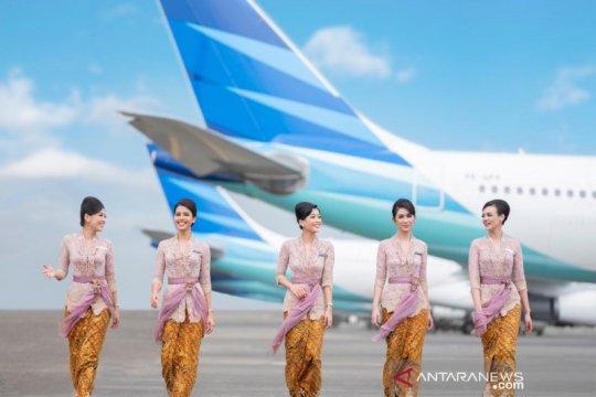 """Kebaya Anne Avantie """"mengudara"""" bersama Garuda Indonesia"""
