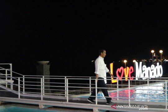 Presiden Jokowi dorong pariwisata Sulut berstandar bintang empat