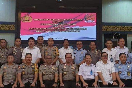 Baintelkam Polri sosialisasi pengawasan orang asing di Palembang