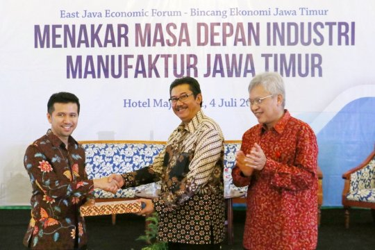 Pemprov Jatim dorong industri mencari strategi transformasi