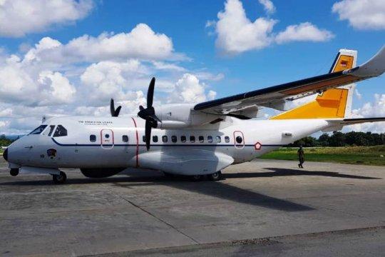 Pesawat CN 235 MPA diperbantukan cari heli MI 17