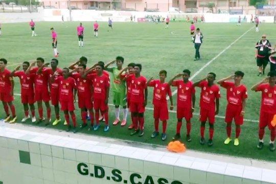 Timnas Pelajar U-15 ke delapan besar setelah bekap tim asal Portugal