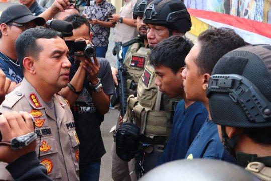Polres Metro Jakarta Utara tangkap pelaku penusukan di Pantai Ancol