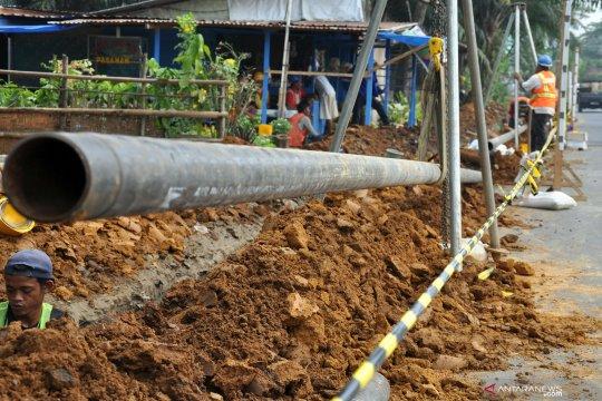 Pipa gas Gresik-Semarang ditargetkan selesai Maret 2020