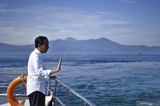 Jokowi bagi resep bugar dengan jamu