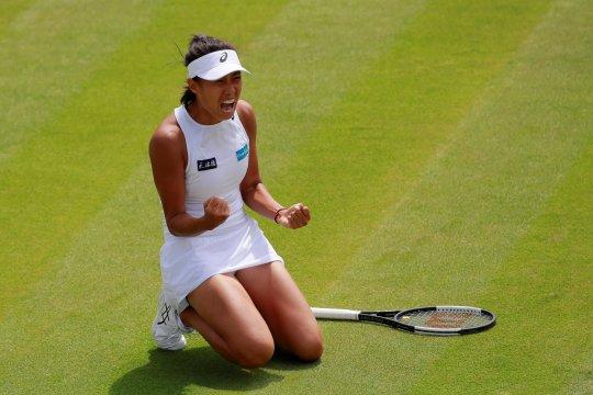 Tenis Wimbledon: Zhang Shuai taklukan Wozniacki