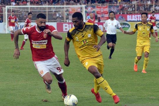 Perseru Badak Lampung FC imbangi Barito Putera