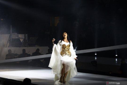 Anggun bawakan 20 lagu dalam konser amal, kumpulkan donasi Rp3 miliar
