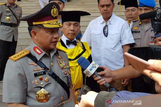 Kapolri mewisuda 306 sarjana lulusan Akpol Semarang