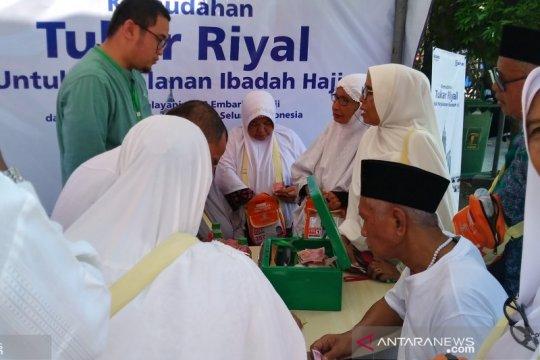 Calon haji Kloter I Embarkasi Padang masuki Asrama Haji Tabing