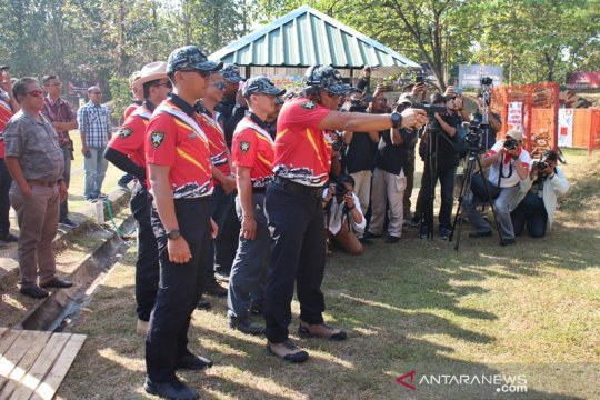 639 petembak berlomba ikuti kejuaraan Danjen Kopassus