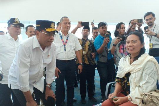 Menhub tinjau Bandara Kertajati sekaligus rapat dengan Pemprov Jabar