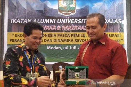 IKA Unand berperan penting dalam pembangunan Sumatera Utara