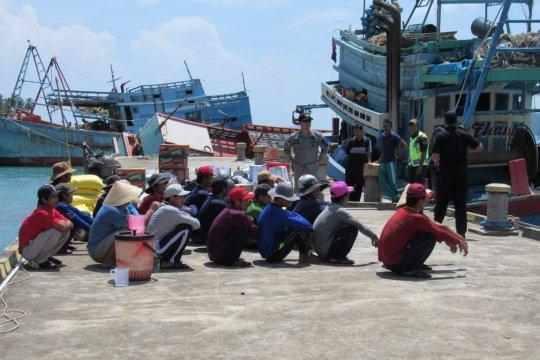 Sejak 2014, KKP tenggelamkan 516 kapal ilegal