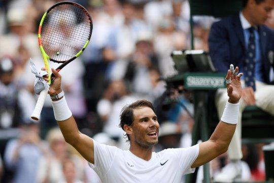 Tenis Wimbledon:  Nadal melaju ke babak keempat usai singkirkan Tsonga