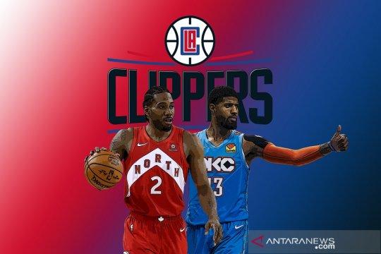 Clippers resmi umumkan kedatangan Leonard dan George