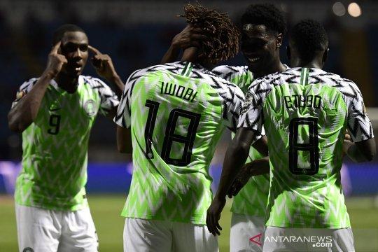 Nigeria singkirkan juara bertahan Kamerun demi capai perempat final