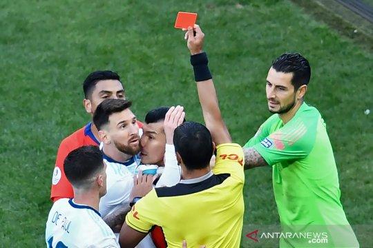 CONMEBOL anggap tuduhan Messi melecehkan, tapi tak ada ancaman hukuman