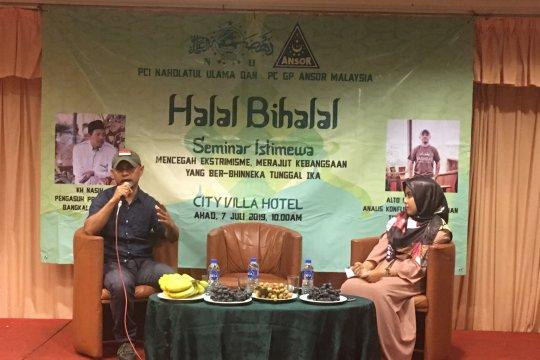 PCINU Malaysia gelar seminar dan halal bihalal
