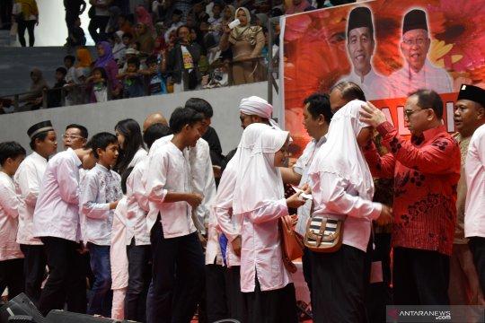 Aliansi Relawan Jokowi santuni 10 ribu yatim piatu